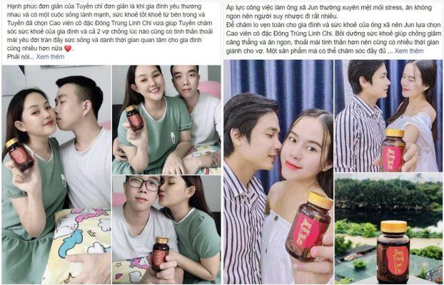 review Đông Trùng Linh Chi True Natural