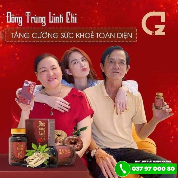 Viên uống Đông Trùng Linh Chi 3