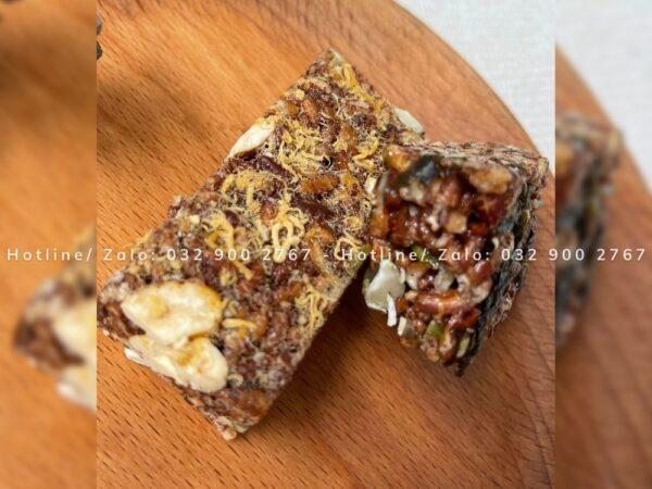 thanh cơm gạo lứt ngũ cốc herbslim 1
