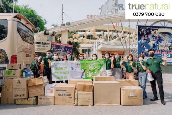 Công ty của Trấn Thành ủng hộ gần 122 triệu đồng, giúp đỡ Bắc Giang thân yêu 5
